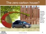 the zero carbon house