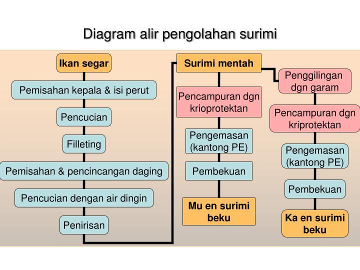 Ppt surimi technology powerpoint presentation id992583 diagram alir pengolahan surimi flow proses pembuatan surimi ccuart Gallery