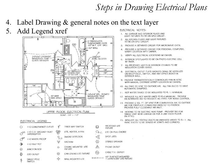 Electrical Plan General Notes Not Lossing Wiring Diagram