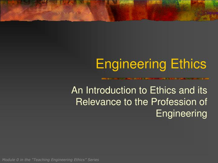 engineering ethics n.