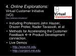 4 online explorations virtual customer initiative vci http mitsloan mit edu vc