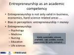 entrepreneurship as an academic competency5