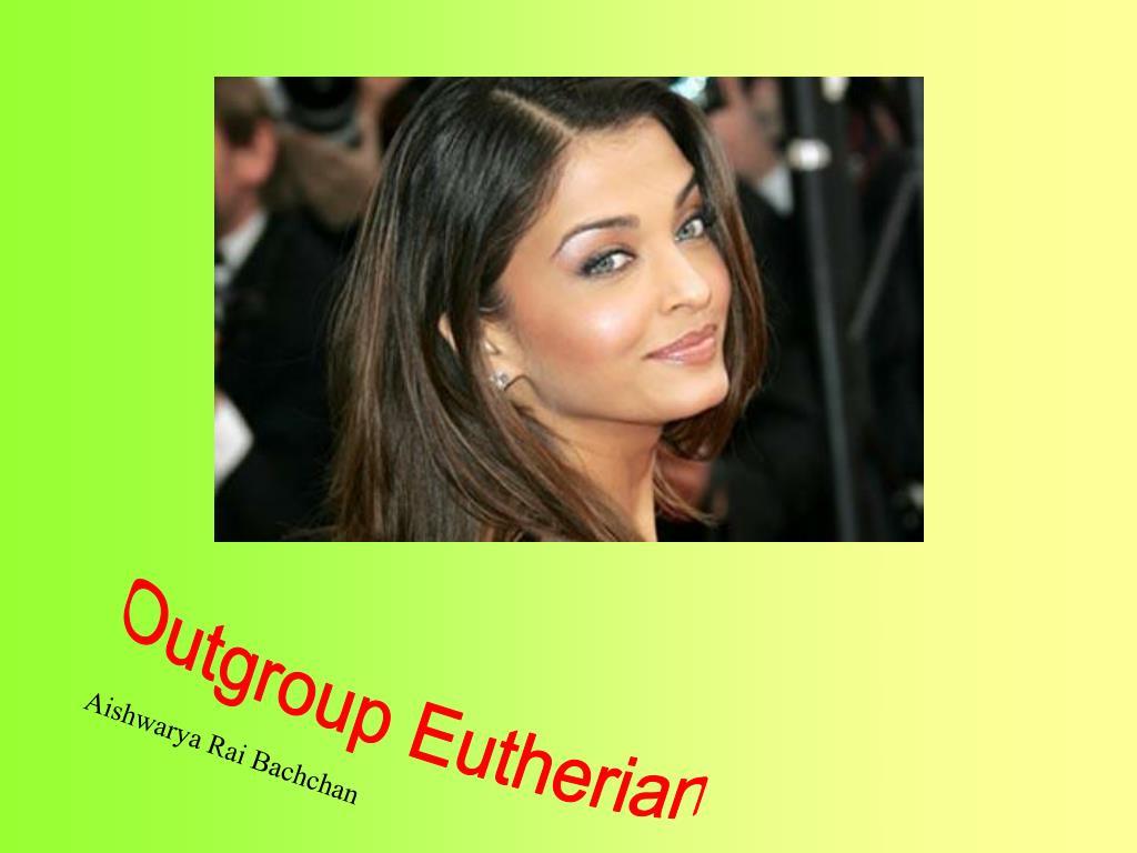 Outgroup Eutherian