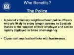 who benefits2