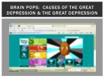 brain pops causes of the great depression the great depression
