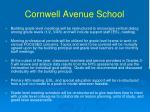 cornwell avenue school