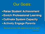 our goals1