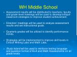wh middle school