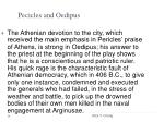 pecicles and oedipus