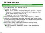 2a 2 4 4 nuclear