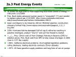2a 3 past energy events
