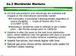 2a 3 worldwide markets