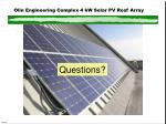 olin engineering complex 4 kw solar pv roof array