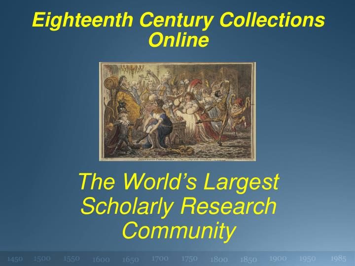 eighteenth century collections online n.