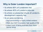 why is outer london important