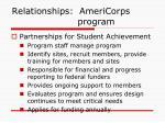 relationships americorps program