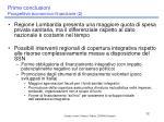 prime conclusioni prospettive economico finanziarie 2