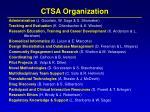ctsa organization