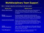 multidisciplinary team support1