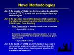 novel methodologies