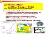 land surface model and river transport model forrest hoffman mariana verenstein marcia branstetter