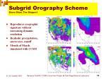 subgrid orography scheme steve ghan tim shippert