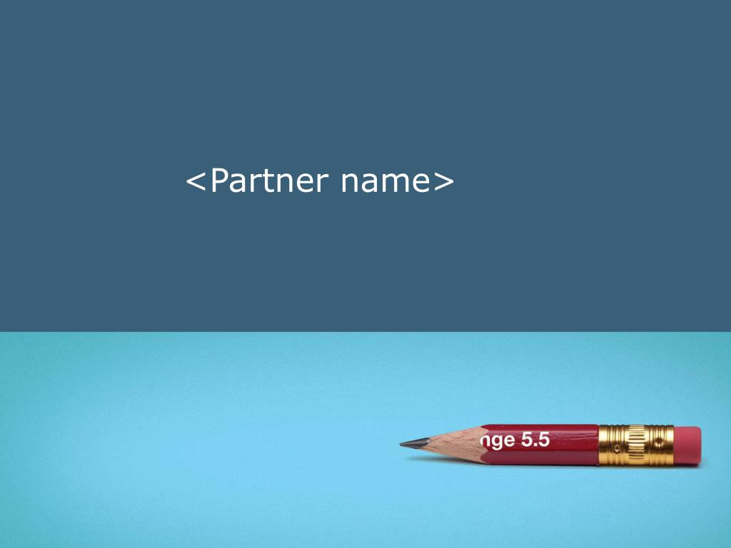 <Partner name>