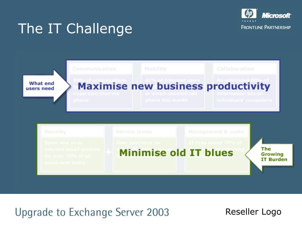 The IT Challenge