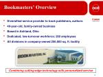 bookmasters overview