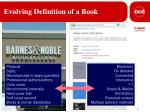 evolving definition of a book