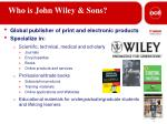 who is john wiley sons