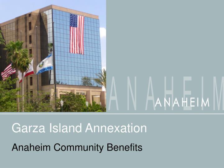 garza island annexation n.