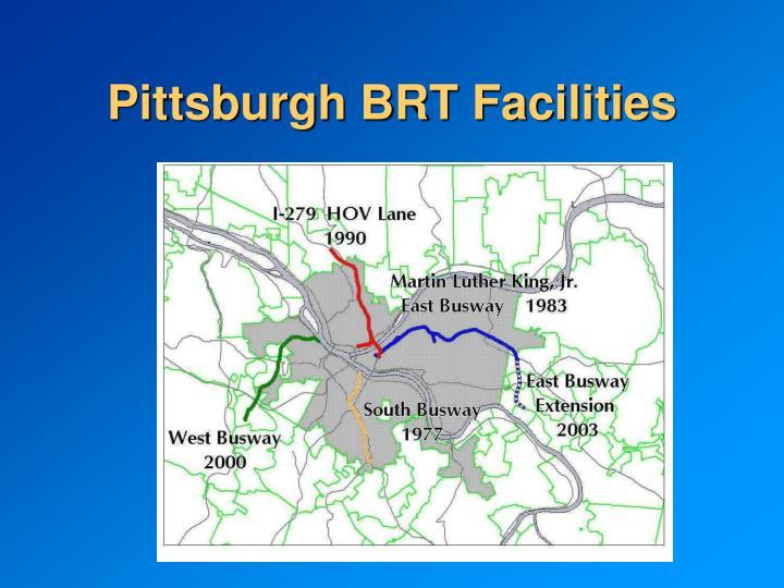 Pittsburgh BRT Facilities
