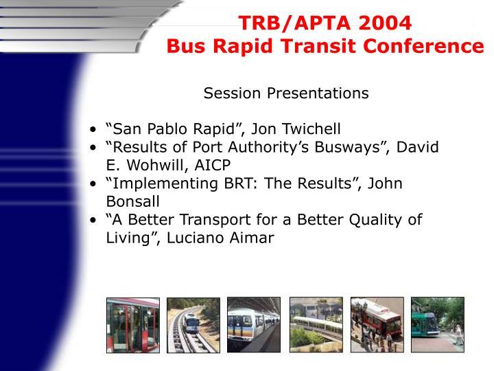 Session Presentations
