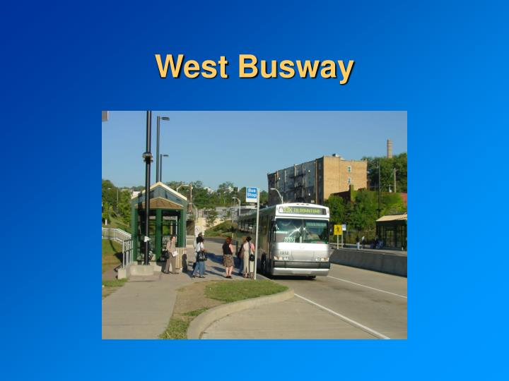 West Busway