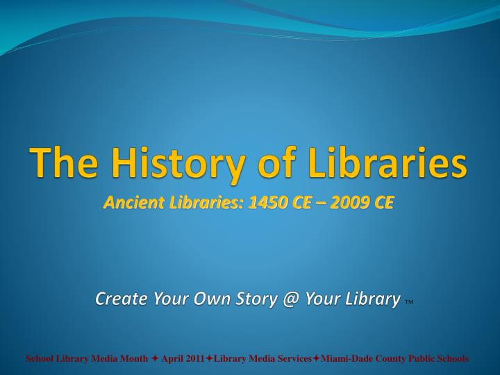 create your own story @ your library n.