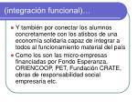 integraci n funcional