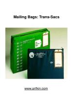 mailing bags trans sacs