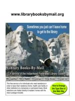 www librarybooksbymail org