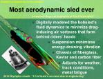 most aerodynamic sled ever