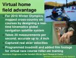 virtual home field advantage