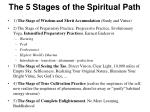 the 5 stages of the spiritual path