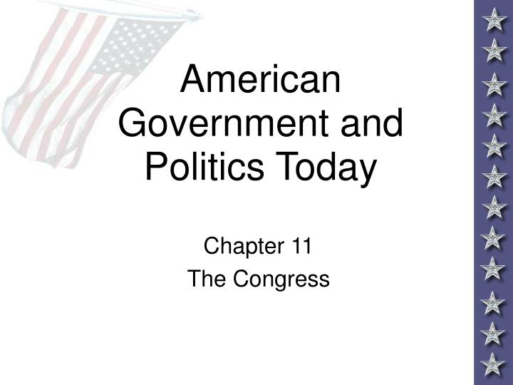 american government and politics today n.