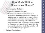 how much will the government spend