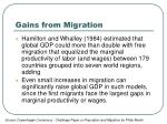 gains from migration