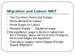 migration and labour mkt