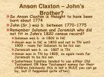 anson claxton john s brother1