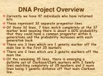 dna project overview