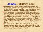 james military cont