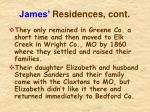 james residences cont